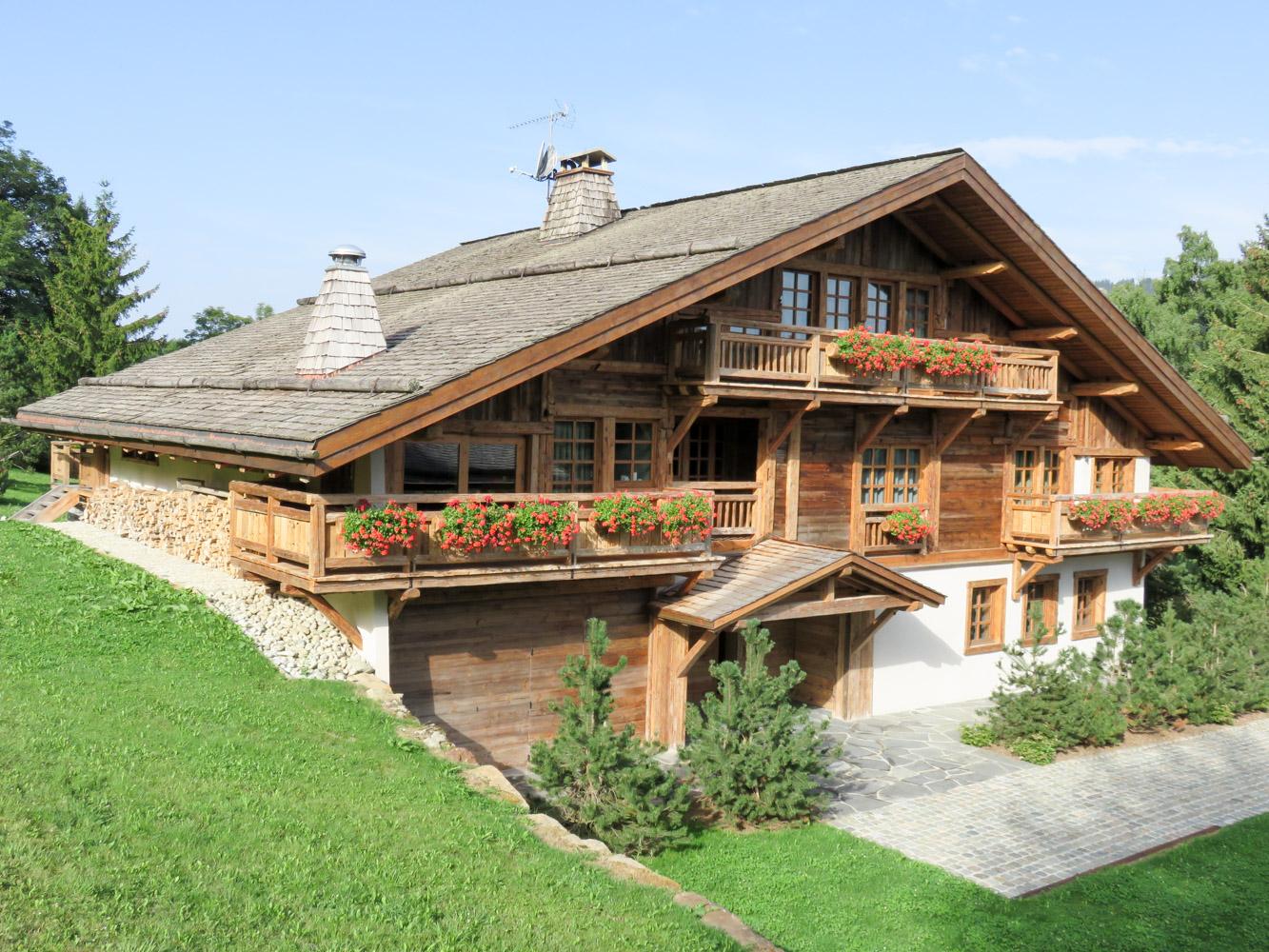 Charpente Bottollier Cordon Haute Savoie 74 Menuiserie