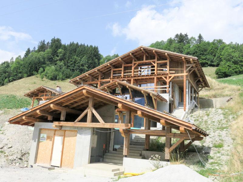 Charpente Bottollier Cordon Haute Savoie 74 Charpente vieux bois Haute Savoie 74 # Structure Charpente Bois